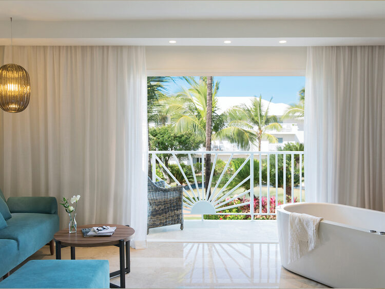 Junior Suite Garden or Mountain View at Excellence Punta Cana Resort
