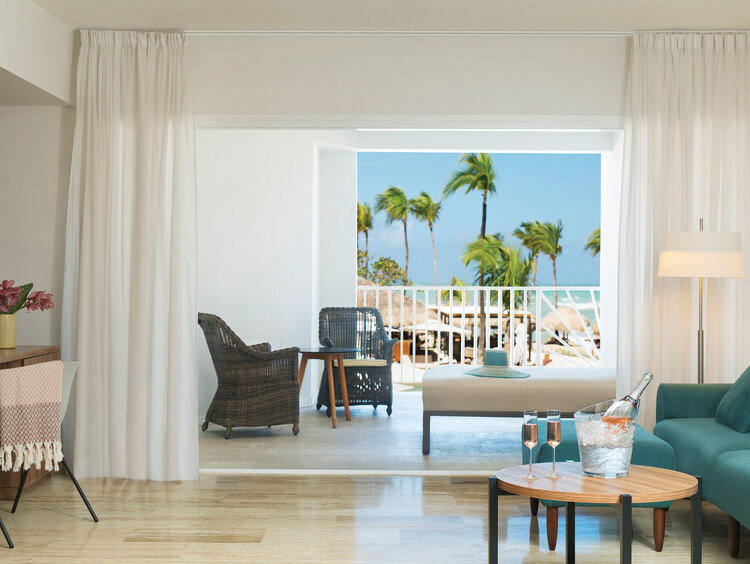 Luxury Suite in One of the Best Honeymoon Resorts in Punta Cana