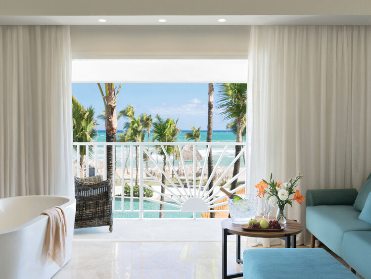 Suite con Vista al Mar en Excellence Punta Cana