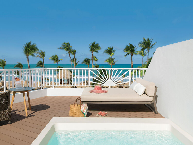 Excellence Punta Cana Terrace Suite with Plunge Pool Ocean Front