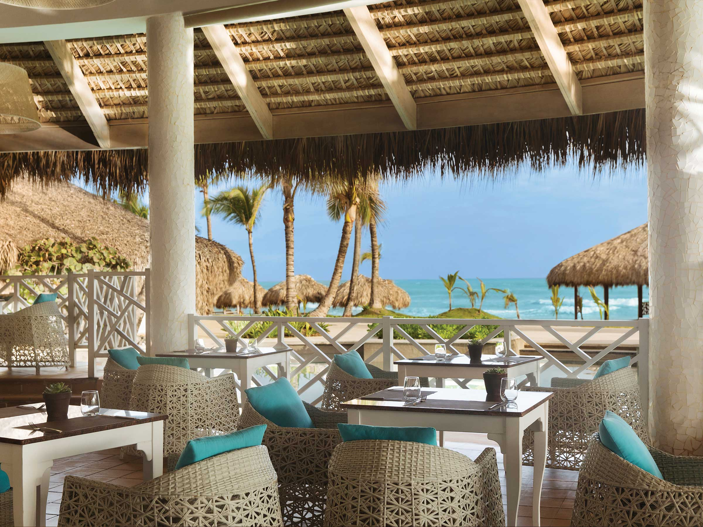 Beachside Restaurant at Excellence Punta Cana