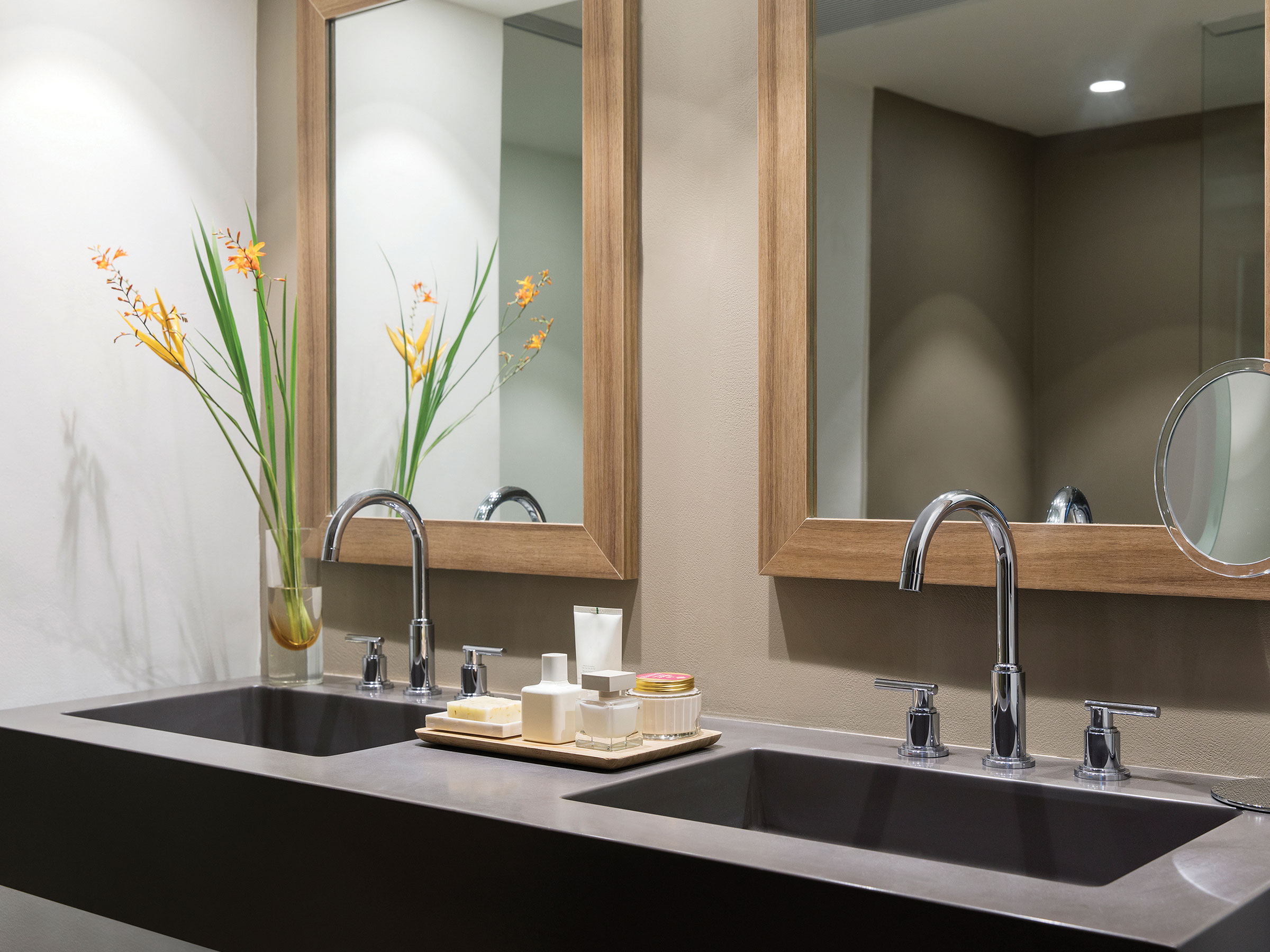Luxury Bathroom in Our Swim-Up Suites at Excellence Punta Cana