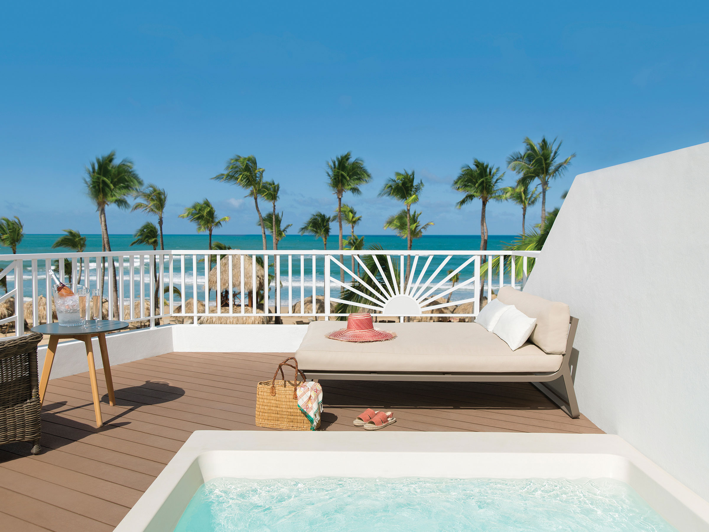 Revel in These Excellence Punta Cana Terrace Suites with Ocean Front View