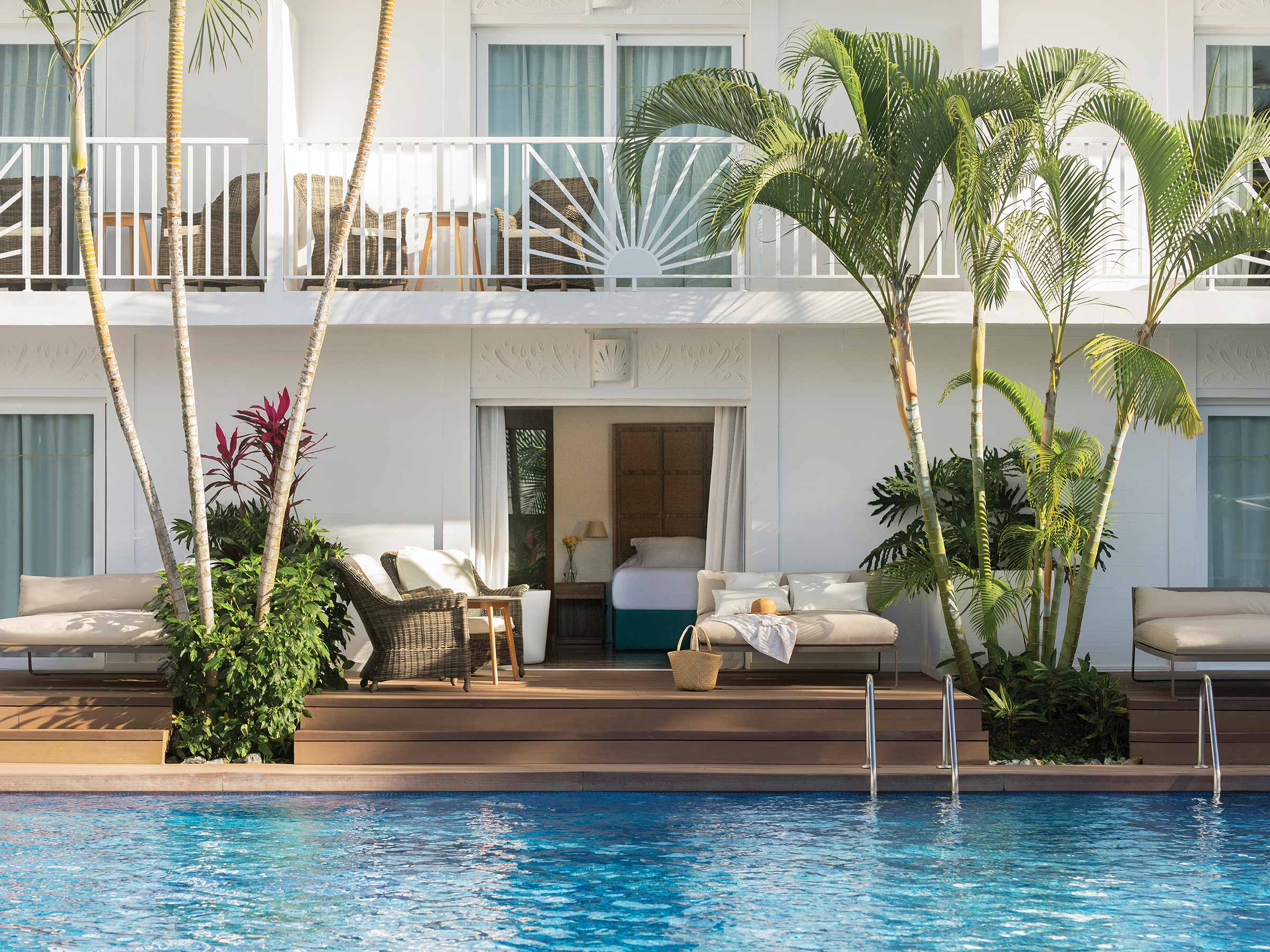 Stay in a Junior Swim-Up Suite at Excellence Punta Cana
