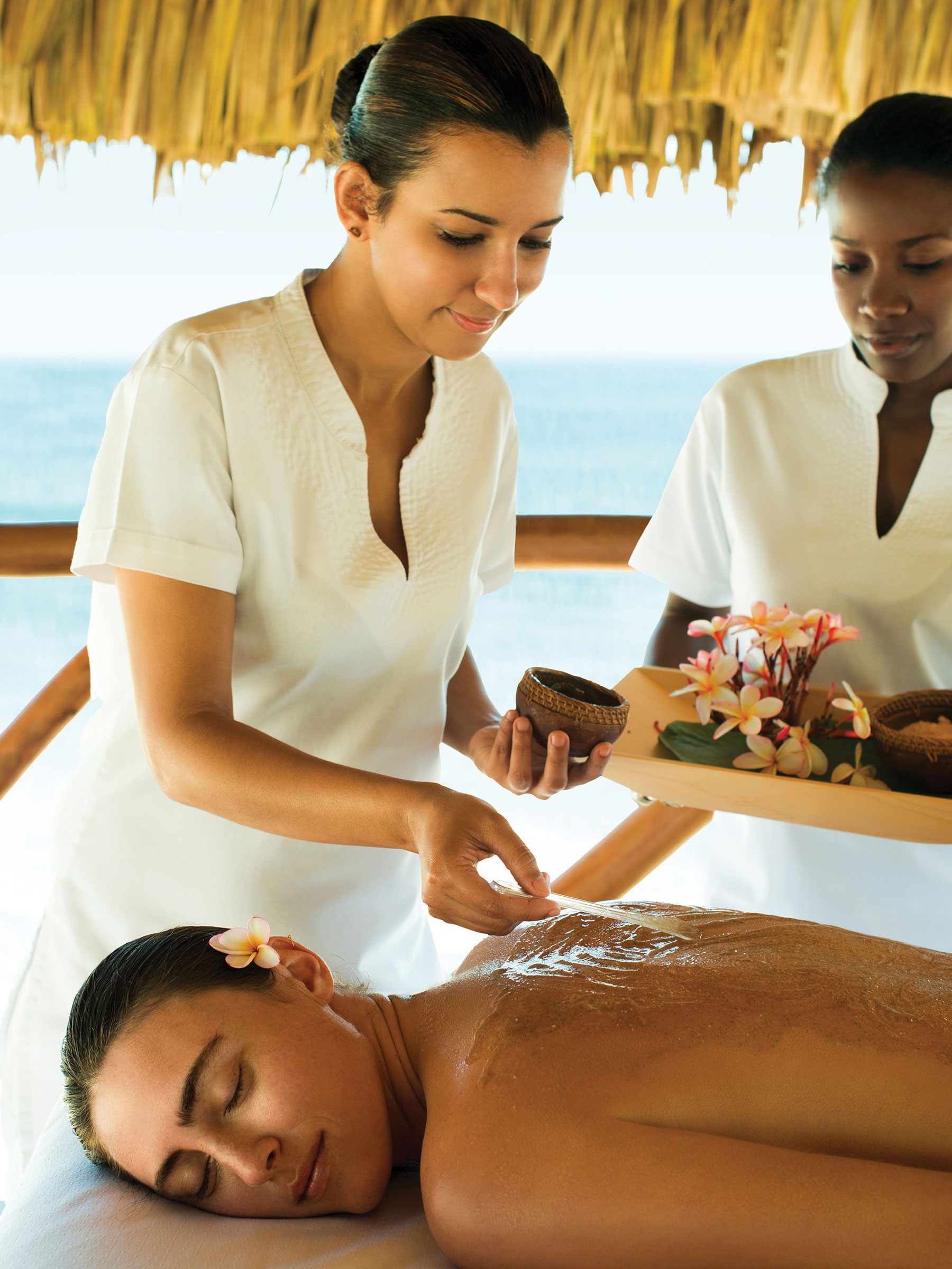 Excellence Punta Cana Luxury Resort and Spa Beach Massages